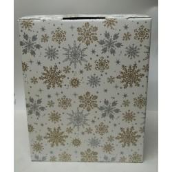 Caja Cesta Navidad Estrellas.