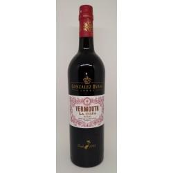 Vermouth La Copa. Rojo.