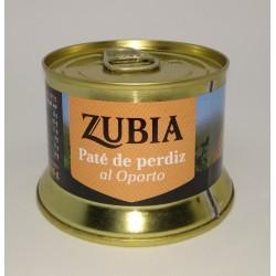 Paté de Perdiz al Oporto Zubia